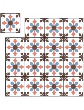 carreaux ciment pour salle de bain KP-169