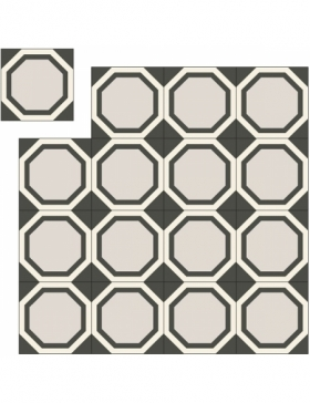 carreaux de ciment couloir KP-198