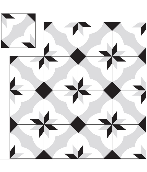 carreau ciment octogonal KP-286