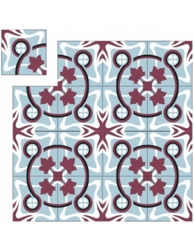 carreaux de ciment geometrique KP-291