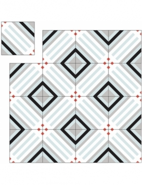 carreaux de ciment motif géométrique KP-293