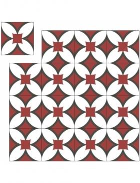 carrelage patchwork gris KP-379