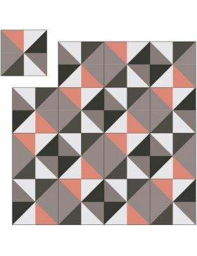 patchwork carreaux de ciment KP-49
